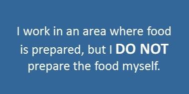 food safety training level 1