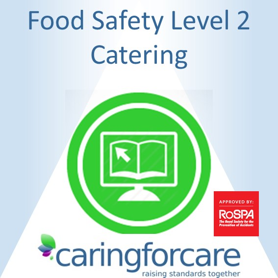 catering food safety level 2 e-learning