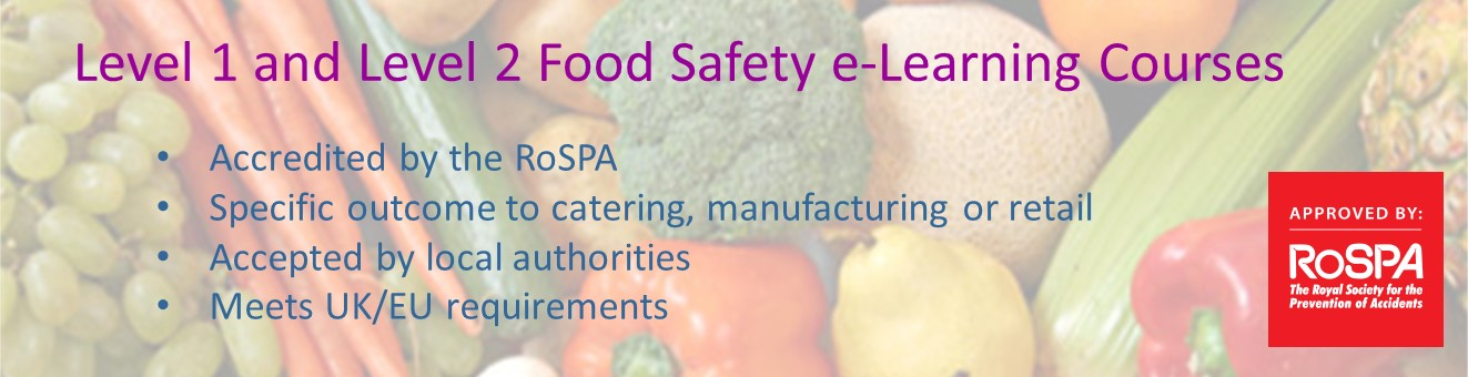 food safety e-learning