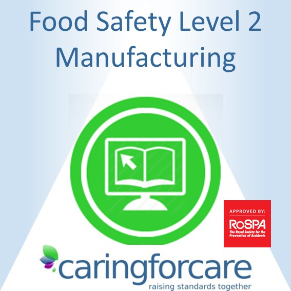 manufacturing food safety level 2 e-learning