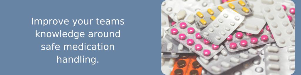 safer handling of medication training
