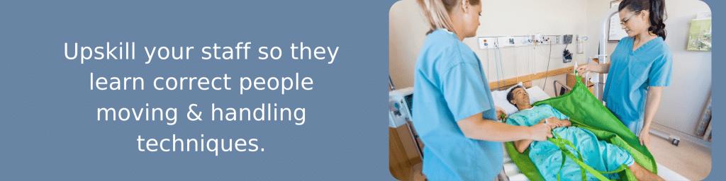 people moving & handling refresher training