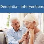dementia interventions online training