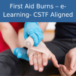 first aid burns online training