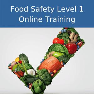food safety level 1 online training