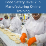 food safety level 2 manufacturing online training
