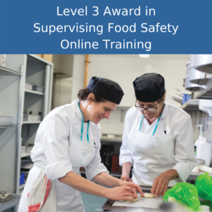 level 2 supervising food safety online training